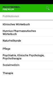 Pschyrembel Premium - screenshot thumbnail
