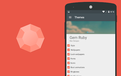 Gem Ruby CM12 Theme v1.0.3