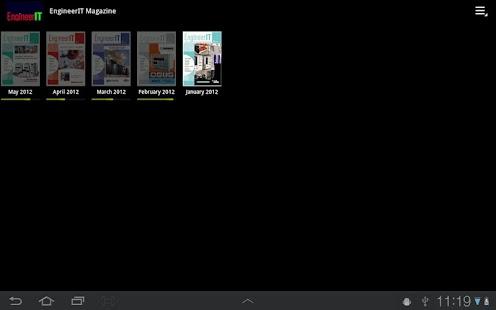 EngineerIT Magazine- screenshot thumbnail