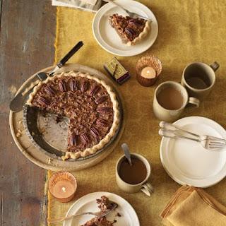 Pecan Pie with Cream Cheese Crust