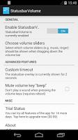 Screenshot of StatusbarVolume