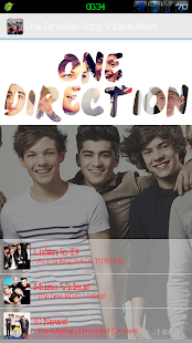 One Direction All Songs &Video - screenshot thumbnail