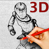 "Drawing doll Viewer ""3D Poses"""