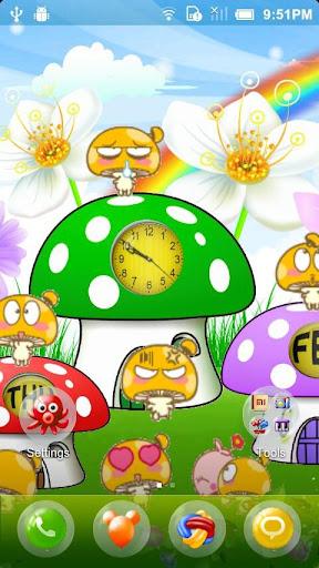 Mushroom Village Livewallpaper