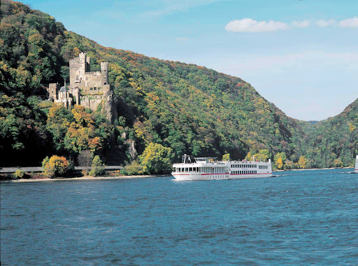 Viking-Neptune-Rheichenstein-Castle - Viking's signature cruises pass through a storybook land of castles on the Rhine River. Passengers fill the decks to hear tales of romance and treachery during the live narration along the Middle Rhine, a UNESCO World Heritage Site.