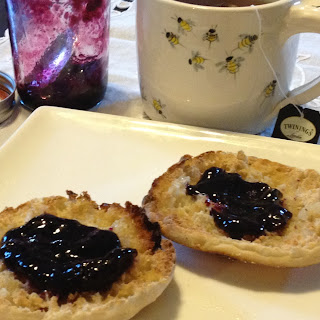Simple Concord Grape Jam.