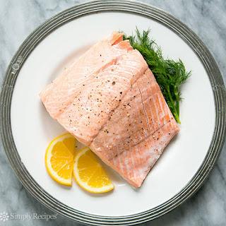 Poached Salmon.