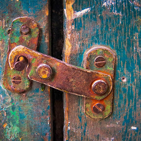 The Latch by Darrell Champlin - Buildings & Architecture Decaying & Abandoned