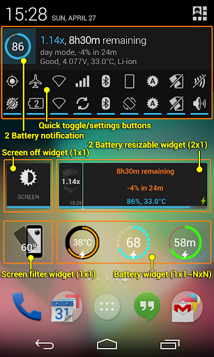2 Battery Pro - Battery Saver for Android - Latest Version