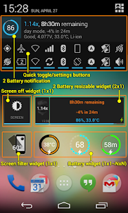 2 Battery Pro - Battery Saver - screenshot thumbnail
