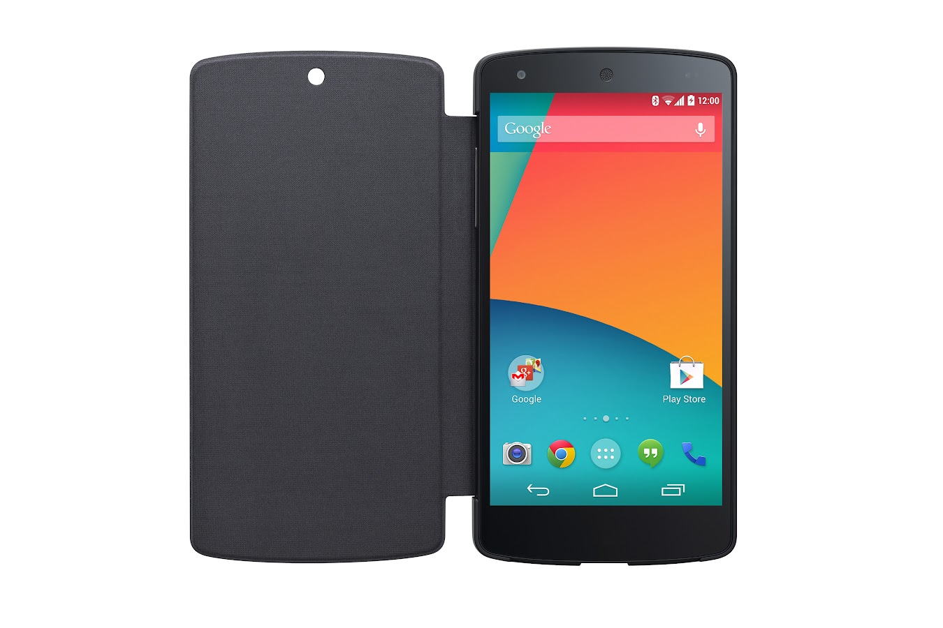 LG QuickCover for Nexus 5 (Black) - screenshot