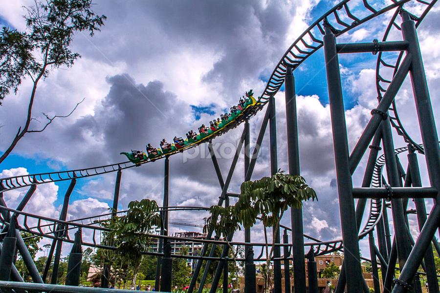 Here you GO!!! by Ravi Sharma - City,  Street & Park  Amusement Parks ( amusement ride, amusement parks, legoland )