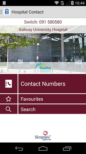 Hospital Contact - Ireland