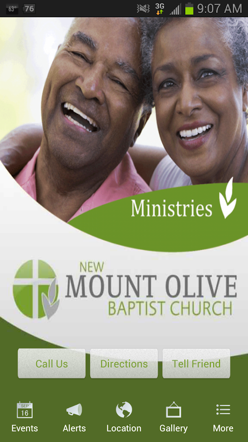 Mount Olive Baptist Church- screenshot