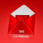SMS On Live Wallpaper(Message) icon