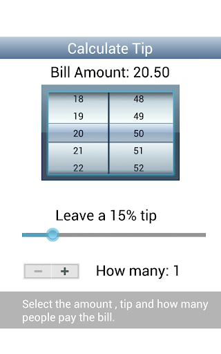 Calculate Tips