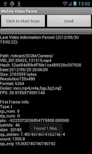 Mobile Video Parser- screenshot thumbnail