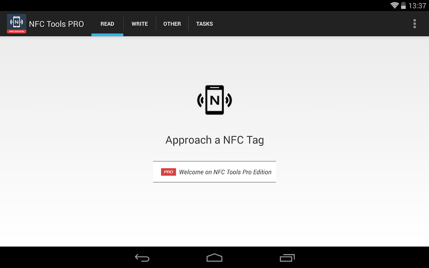 NFC Tools - Pro Edition- screenshot