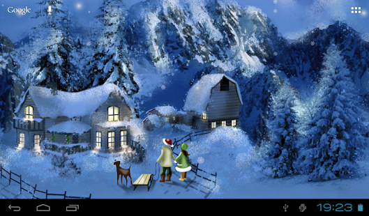 Christmas Wallpaper Lite- screenshot thumbnail