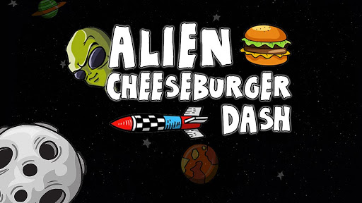 Alien Cheeseburger Dash