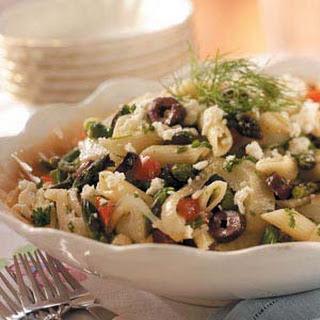 Asparagus-Fennel Pasta Salad.