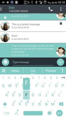 Theme for A.I.type Droid Soft - screenshot
