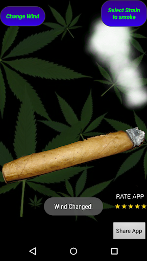 Smoke Blunt Marijuana Simulate
