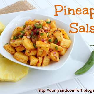 Spicy and Fresh Pineapple Salsa