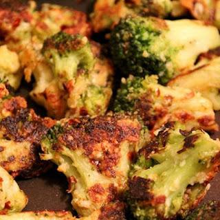 Parmesan Crusted Broccoli.