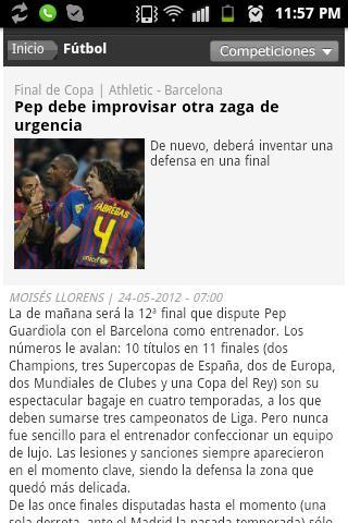 Diarios Deportivos- screenshot