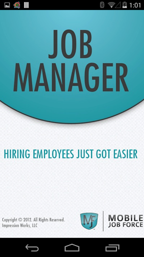 Mobile JobManager