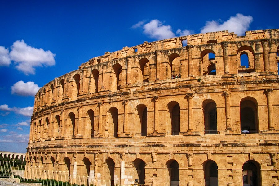 El jem by Maja  Marjanovic - Buildings & Architecture Public & Historical ( romans, gladiators, amphitheater, show, architecture,  )