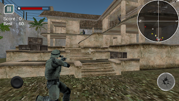 Screenshot of Commando Action 3D