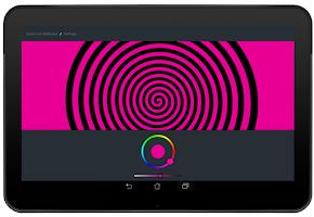 Screenshot of Spiral Live Wallpaper FREE