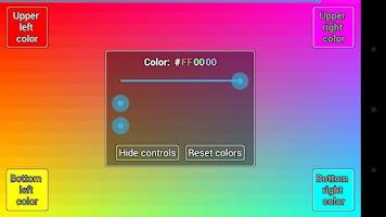 Screenshot of Display Tester
