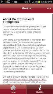 CA Professional Firefighters- screenshot thumbnail
