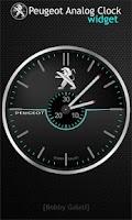 Screenshot of Peugeot Analog Clock Widget HD
