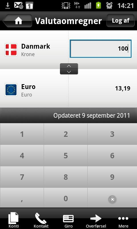 Mobilbank - screenshot