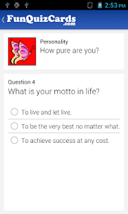 Fun Personality Quizzes - screenshot thumbnail