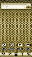 Screenshot of ADW Theme Gold