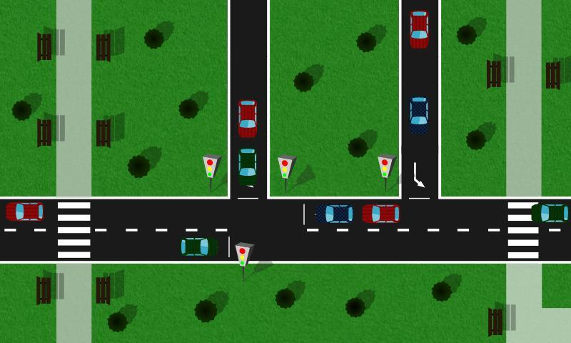 Avoid Crash - Traffic light- screenshot