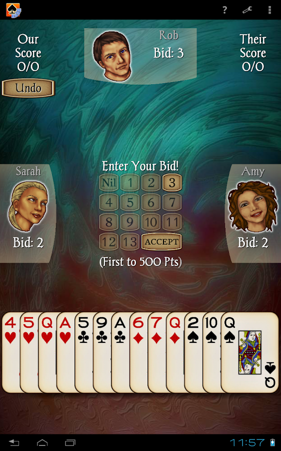 Spades Free- screenshot