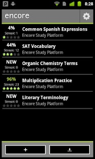 Encore Study Platform - screenshot thumbnail