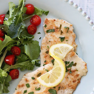 Chicken Francese - Lightened Up