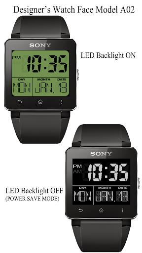 A02 WatchFace for SmartWatch2
