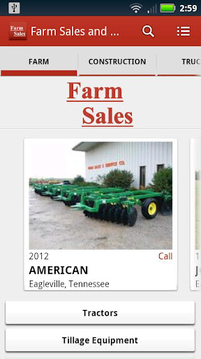 Farm Sales and Service