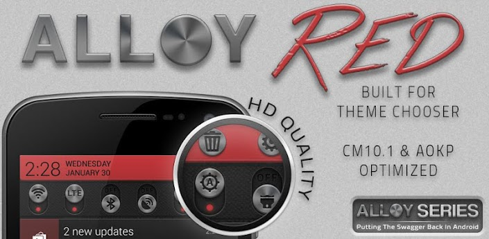 Alloy Red Theme CM10.1