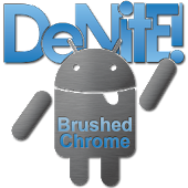 Download Full Brushed Chrome CM10 Theme Free 3.7.2 APK