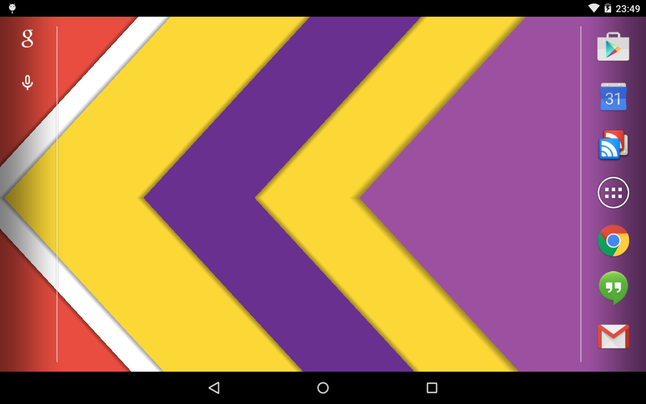 Material Design Live Wallpaper- screenshot