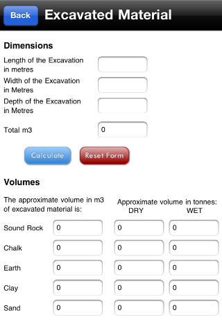 Easy Construction Calculators- screenshot